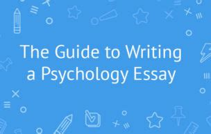 Writing a Reflection for Psychology - Earlham College